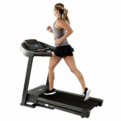 Picture of Sunny Health & Fitness T7643 Heavy Duty Walking Treadmill