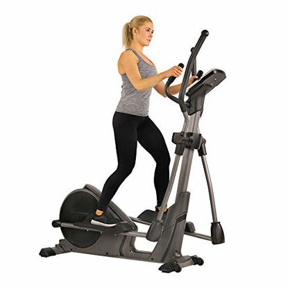 Picture of Sunny Health & Fitness Magnetic Elliptical Trainer Machine