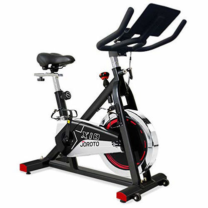Picture of JOROTO Belt Drive Exercise Bike - Indoor Cycling Bike Stationary Cycle for Home Gym Workout