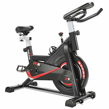 Picture of RELIFE REBUILD YOUR LIFE Exercise Bike Indoor Cycling Bike Fitness Stationary All-inclusive Flywheel Bicycle with Resistance for Gym Home Cardio Workout Machine Training New Version