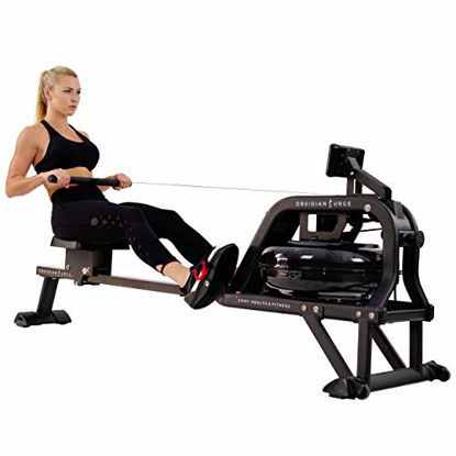 Picture of Sunny Health & Fitness Water Rowing Machine Rower