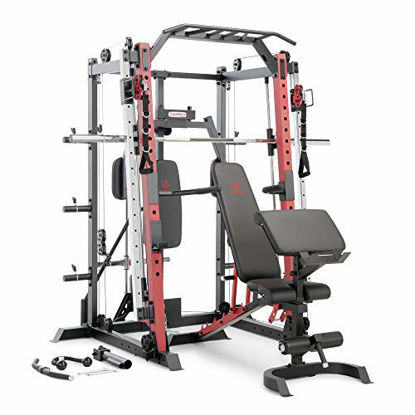 Picture of Marcy Smith Machine Cage System Home Gym Multifunction Rack