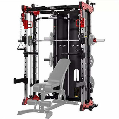 Picture of Commercial Home Gym - Smith Machine, Cables with Built in 160 kg Weights