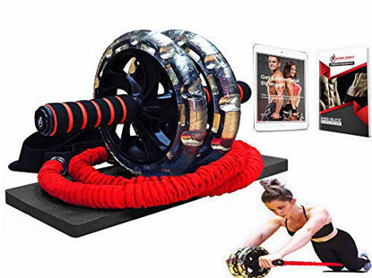Picture of INTENT SPORTS Multi Functional Ab Wheel Roller KIT