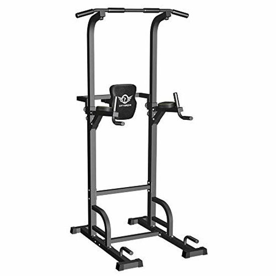 Picture of CITYBIRDS Power Tower Dip Station Pull Up Bar