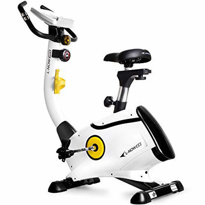 Picture of L NOW Exercise Bike Upright Bike Magnetic Resistance Belt Drive