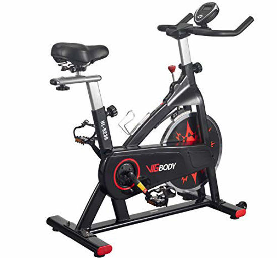 Picture of VIGBODY Exercise Bike Indoor Cycling Bike Adjustable Stationary Bicycle