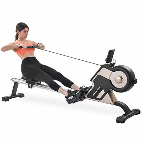 Picture of Merax Rowing Machine Indoor Home Rower Magnetic Rowing Machine