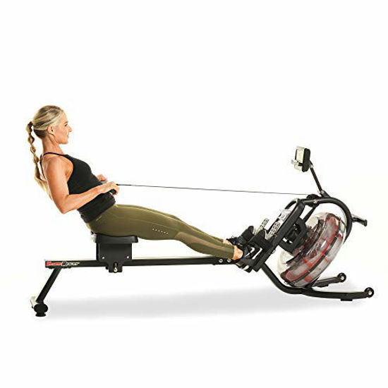 Picture of Fitness Reality 3000WR Bluetooth Water Rower Rowing Machine