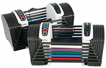 Picture of PowerBlock Sport 24 Adjustable Dumbbell, 24 lbs (Pack of 2)