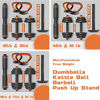 Picture of Gnpolo Free Dumbbells Weights Set 4 Multifunctional Barbell Kettlebells Push Up Stand