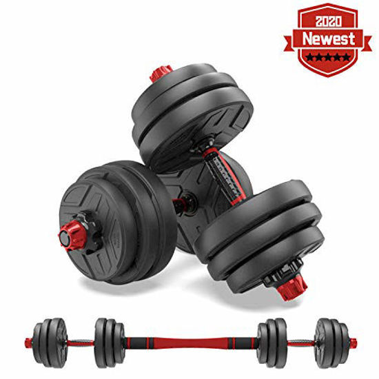 Picture of shanchar Adjustable Weights Dumbbells Set