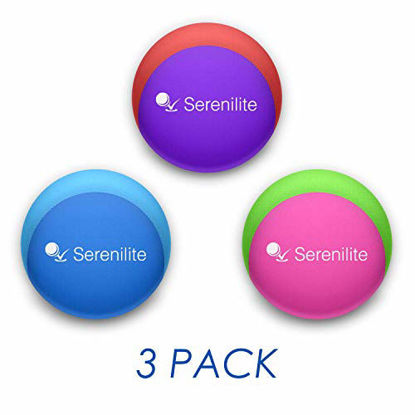 Picture of Serenilite Stress Ball and Hand Therapy Gel Squeeze Exercise Ball