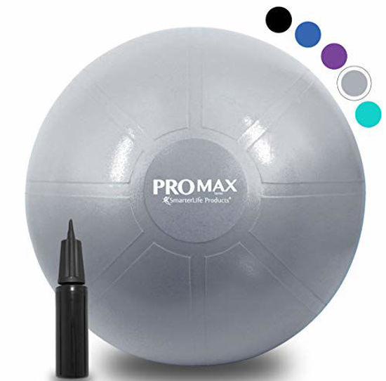 Picture of SmarterLife PRO MAX Exercise Ball - Professional Grade