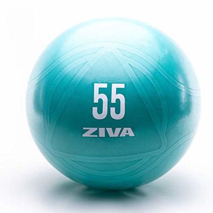 Picture of ZIVA Anti Burst Core Fitness Exercise Ball - Professional Grade