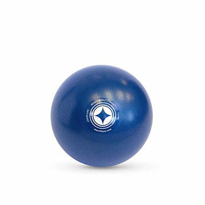 Picture of STOTT PILATES Mini Stability Ball (Blue), 7.5 Inch / 19 cm