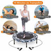 """Picture of 2020 Upgraded Wamkos 40"""" Rebounder Mini Exercise Trampoline"""
