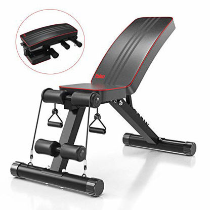 Picture of Yoleo Adjustable Weight Bench