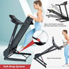 Picture of ADVENOR Treadmill Motorized Treadmills 2.5 HP Electric Running Machine Folding Exercise Incline Fitness Indoor (Black)