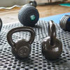 Picture of Everyday Essentials All-Purpose Solid Cast Iron Kettlebell, Gray