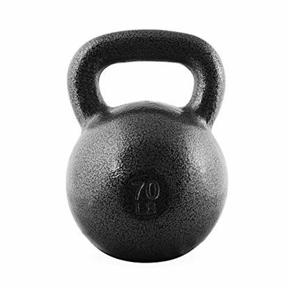 Picture of CAP Barbell Cast Iron Kettlebell, 70 Pounds