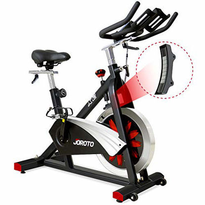Picture of JOROTO Belt Drive Indoor Cycling Bike with Magnetic Resistance Exercise Bikes Stationary Bike