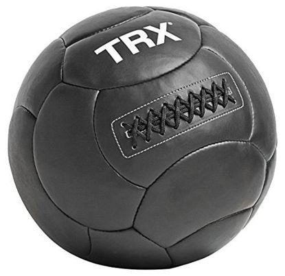 Picture of TRX Training Handcrafted Medicine Ball with Reinforced Seam Construction (8 Pounds)