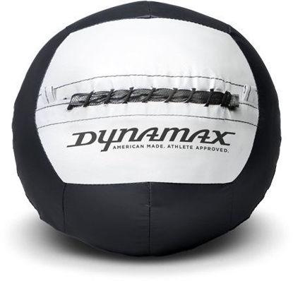 Picture of Dynamax 8lb Soft-Shell Medicine Ball Standard Black/Grey