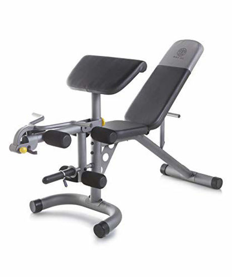 Picture of Gold's Gym XRS 20 Olympic Workout Bench with Removable Preacher Pad