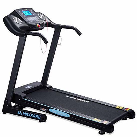 Picture of MaxKare Electric Folding Treadmill Auto Incline Running Machine