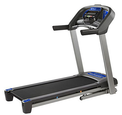 Picture of Horizon Fitness T101 Treadmill Series, Bluetooth Enabled, Folding Treadmills, Upgrade to The T202 for Larger Motor, app Integration, and Longer Deck.