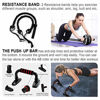 Picture of LUYATA Ab Roller Wheel, 10-in-1 Ab Wheel Roller Kit with Resistance Bands, Knee Mat, Jump Rope, Push-Up Bar - Home Gym Equipment for Men Women Core Strength & Abdominal Exercise Workout