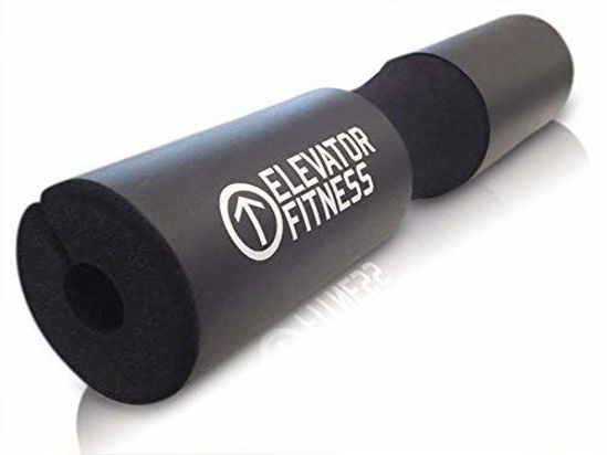 Picture of Elevator Fitness Squat Pad Barbell Pad for Squats, Lunges, and Hip Thrusts - Foam Sponge Pad - Provides Relief to Neck and Shoulders While Training