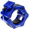 """Picture of Barbell Clamps 2 inch Olympic - Weight Collars Pair of 2"""" Inch Pro ABS Locking - Barbell Set of 2 Blue Clamps - Perfect for Pro Crossfit Strong Lifts and Olympic Training - Professional Quality"""