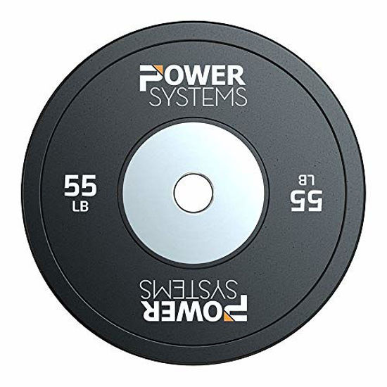 Picture of Power Systems Training Bumper Plate - with Reinforced Inner Stainless Steel Disc for Maximum Durability (55)