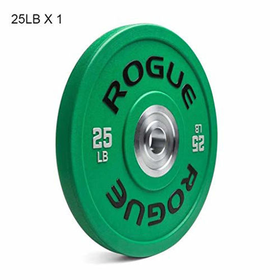Picture of Barbell Plates Olympic Bumper Weighted Plate Barbells Plates Single Weight Plates for Barbell or Dumbbell for Home Gym Bodybuilding Weightlifting Crossfit 10lbs/25lbs/35lbs/55lbs Weight Plates Barbell