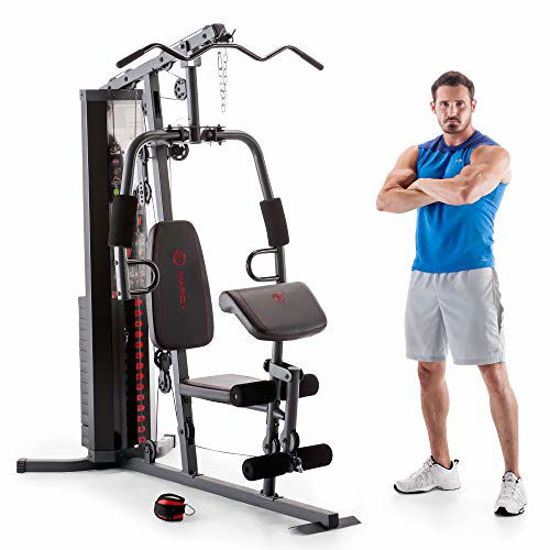 Picture of Marcy 150-lb Multifunctional Home Gym Station for Total Body Training MWM-990