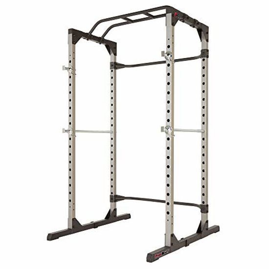 Picture of Fitness Reality 810XLT Super Max Power Cage | Optional Lat Pull-down Attachment and Adjustable Leg Hold-down | Power Cage Only