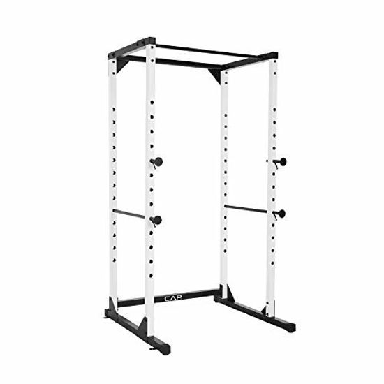 Picture of CAP Barbell Full Cage Power Rack, 7-Foot, White