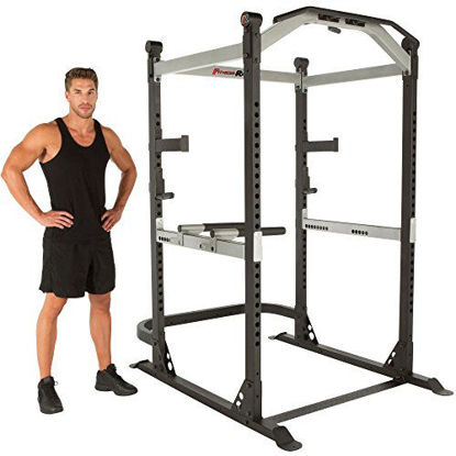 Picture of Fitness Reality X-Class Light Commercial High Capacity Olympic Power Cage, Without Lat Pull-Down Attachment