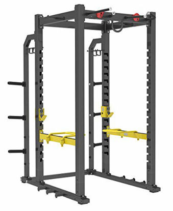 Picture of Fitness First Power Rack, Black (F1RACK1)