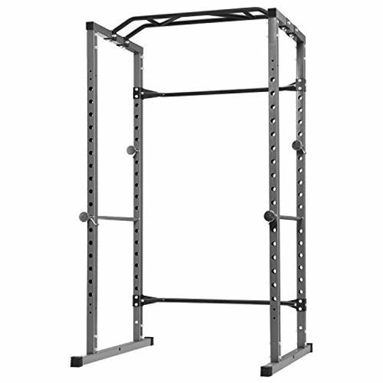 Picture of Kicode Power Cage, Heavy Duty Multi-Function Standard Power Rack, Bench Press Weightlifting Workout Station, Home Gym Squat Rack, 800 Pounds Capacity