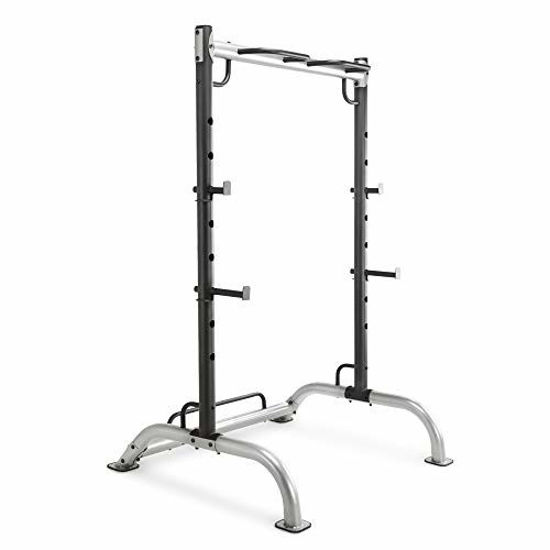 Picture of Marcy Cage Squat Rack Pull Up and Push Up Station with Olympic Barbell Catches MWB-70500