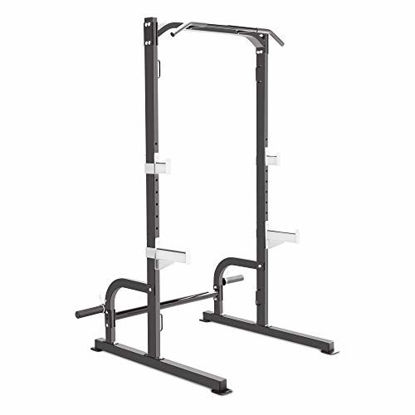 Picture of Marcy Olympic Cage Home Gym System – Multifunction Squat Rack, Customizable Training Station SM-8117, One Size