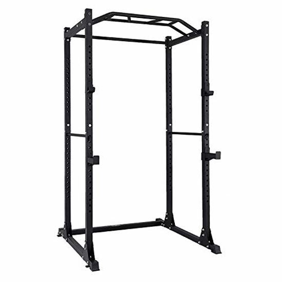 Picture of AMGYM Power Rack Power Cage Workout Station Home Gym for Weightlifting Bodybuilding and Strength Training