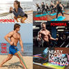 Picture of TRIBE PREMIUM Resistance Bands Set for Exercise, Workout Bands for Men with Fitness Tension Bands, Handles, Door Anchor, Ankle Straps, Carry Bag & Advanced eBook - Strength Training, Home Gym & More!!