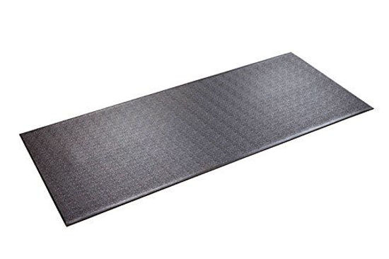 """Picture of SuperMats Heavy Duty Equipment Mat 30GS Made in U.S.A. for Treadmills Ellipticals Rowing Machines Recumbent Bikes and Exercise Equipment (2.5-Feet x 6-Feet) (30"""" x 72"""") (76.20 cm x 182.88 cm)"""