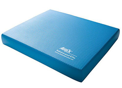 Picture of Airex Elite Balance Pad Foam Board Stability Cushion Exercise Trainer for Balance, Stretching, Physical Therapy, Mobility, Rehabilitation and Core Strength Training 16 x 20 x 2.5, Elite Blue