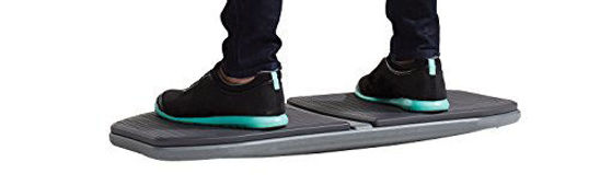 Picture of Gaiam Evolve Balance Board for Standing Desk - Stability Rocker Wobble Board for Constant Movement to Increase Focus, Alternative to Standing Desk Anti-Fatigue Mat