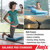 Picture of Airex Balance Pad - Exercise Foam Pad Physical Therapy, Workout, Plank, Yoga, Pilates, Stretching, Balancing Stability Mat, Kneeling Cushion, Mobility Strength Trainer for Knee, Ankle - Standard, Blue